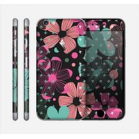 The Abstract Flower Arrangement Skin for the Apple iPhone 6