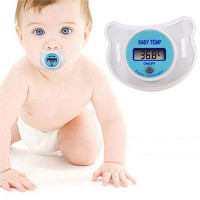 Infants LED Pacifier Thermometer Baby Health Safety Temperature Monitor KidHU