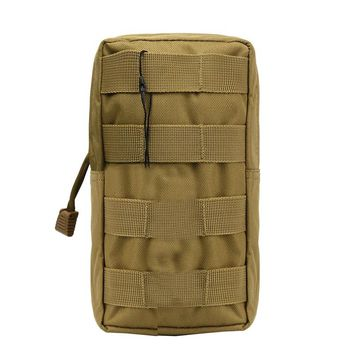 Tactical Molle Utility Pouch 600D Military Airsoft Vest Waist Pouch for Outdoor Gadget Hunting Wasit Pack Equipment