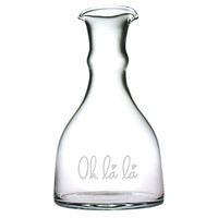 'Oh-la-la' Double Spouted Carafe