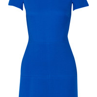 Victoria Beckham - Silk and wool-blend dress