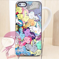 My Little Pony All Character iPhone Case Galaxy Case iPad Case HTC Case