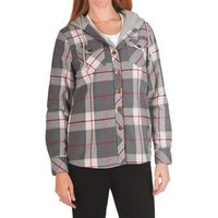 Nina Capri Missy Flannel Shirt Jacket - Thermal Lining (For Women) - Save 44%