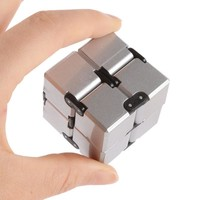 Good Infinity Cube Mini Fidget Toy Finger EDC Anxiety Stress Relief Magic Cube Blocks Adult Children Kids Toys Funny Toys