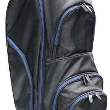 RJ Sports Starter Golf Bag 9 Inches Cart Bag - Black/Navy CC-490