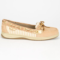 Sperry Top-Sider Angelfish Womens Boat Shoes Sand  In Sizes
