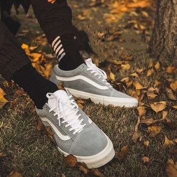 VANS Old Skool Light grey fashion casual shoes