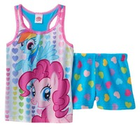 My Little Pony Heart Pajama Set - Girls