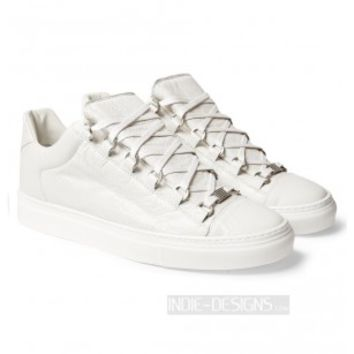 Indie Designs Balenciaga Inspired Arena Low Top Leather Sneakers