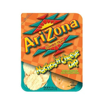 Arizona Nachos and Cheese Dip 4.75 Oz Combo Tray - Pack of 24