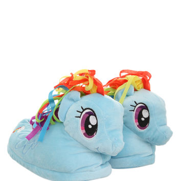 My Little Pony Rainbow Dash Slippers | Hot Topic