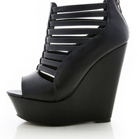 Coop Strip Platform Booties