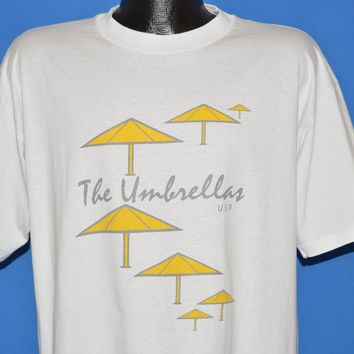 90s Christo And Jeanne-Claude's The Umbrellas t-shirt Extra Large