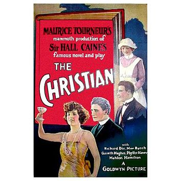 The Christian Poster//The Christian Movie Poster//Movie Poster//Poster Reprint