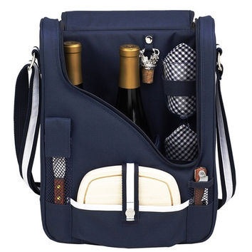 Wine and  Cheese Cooler | Blue