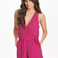 Wrap Loose Playsuit, NLY Trend