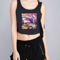 gravity falls for Crop Tank Girls S, M, L, XL, XXL *IP*