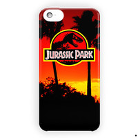 Jurassic Park Logo Quote Design For iPhone 5 / 5S / 5C Case