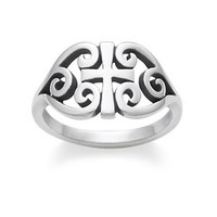 Scroll Cross Ring | James Avery