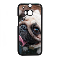 Pug Dog FOR HTC One M8 CASE *NP*