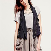 Free People Womens Tencel Vest