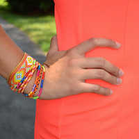 Boho and the Beach bracelet, orange | Chapter 2 Boutique
