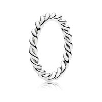 PANDORA | Intertwined Twist Stackable Ring