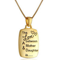 The Love between A Mother Daughter is… Necklace Uniquenacklace-37