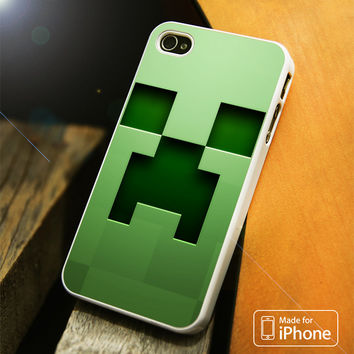 Minecraft Creeper Face iPhone 4(S),5(S),5C,SE,6(S),6(S) Plus Case