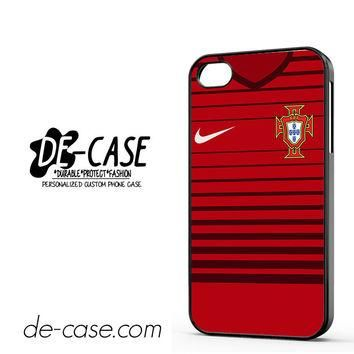Portugal Soccer Jersey For Iphone 4 Iphone 4S Case Phone Case Gift Present YO