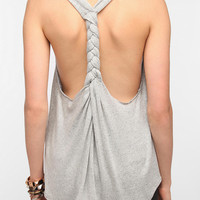 Daydreamer LA Julie Braid-Back Tank Top