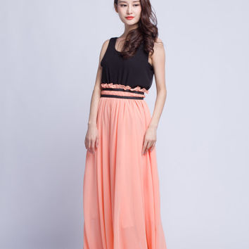 Sleeveless Summer Vest Tops Chiffon Women Top Great Match With Skirts & Pants (611)