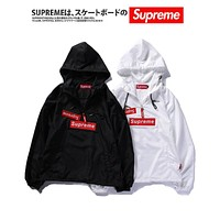 Supreme Unisex Casual Sun Protection Hoodies S-XXL