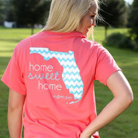 Southern Darlin Collection: Home Sweet Home: Florida, Coral & Turquoise