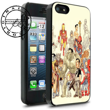 Superhero Team Cartoon iPhone 4s iPhone 5 iPhone 5s iPhone 6 case, Samsung s3 Samsung s4 Samsung s5 note 3 note 4 case, Htc One Case