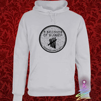 5sos shirt 5 second of summer hoodie in heppy new year and merry christmas.