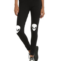 Blackheart Alien Knee Leggings