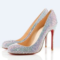 Christian Louboutin fifi 100mm - $209.00