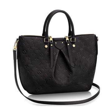 DCCKONIA Authentic Louis Vuitton Mazarine MM Bag Handbag Article:M50643 Noir Made in France
