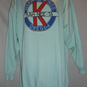 Vintage 1987 80s Oregon Ka Nee Ta Warm Springs Sweatshirt One Size