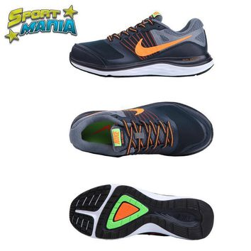 NIKE DUAL FUSION X1 Grey&Orange Men Sport Running shoes