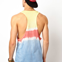ASOS | ASOS Vest With Dip Dye at ASOS