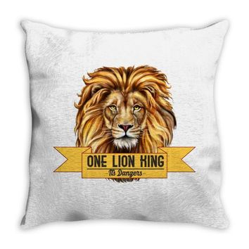 Lion King Throw Pillow