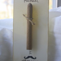 Will You be My Best Man/Groomsman?  3 Cigar Cards
