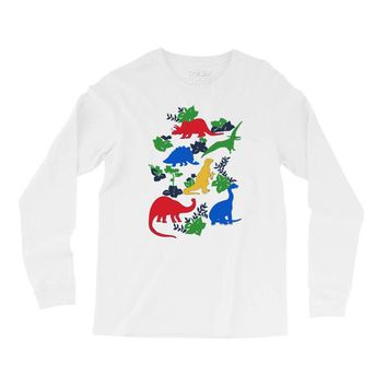 dinosaurs Long Sleeve Shirts