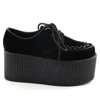 "TRIPLE SOLE 3"" platform CREEPERS unisex retro goth hipster"