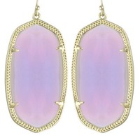 Danielle Earrings in Iridescent Agate - Kendra Scott Jewelry