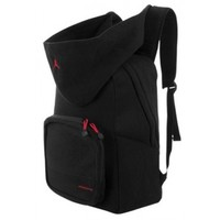 Nike Air Jordan Black Fleece Hoody Backpack 9A1534-023