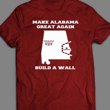 "COLLEGE FOOTBALL ALABAMA ""MAKE ALABAMA GREAT AGAIN"" MEN'S T-SHIRT"