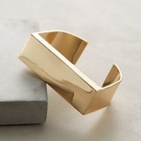 Gold Rush Cuff by BaubleBar x Anthropologie Gold One Size Bracelets